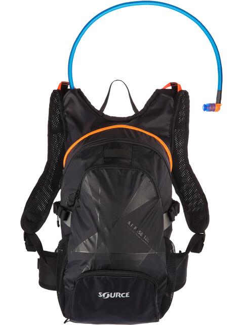 SOURCE Fuse Air Trinkrucksack 3+9l Black/Orange